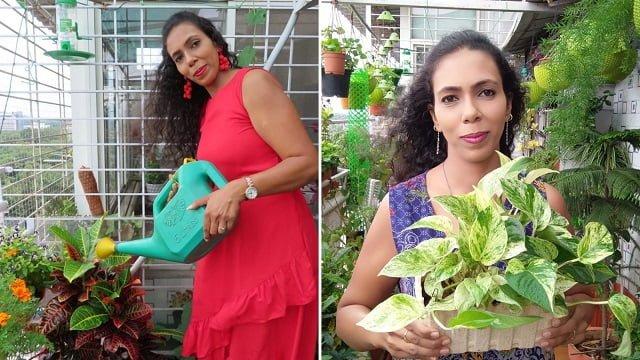 AMRITA BHARTI From Pune Transformed her BALCONY!