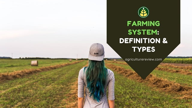 Farming System: Definition And Types Of Farming System