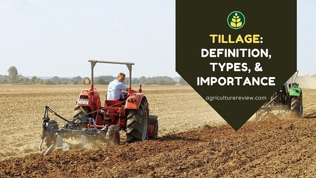 Tillage: Definition, Types, And Importance Of Tillage
